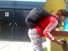 Mostrando la tanga en Mexico #03
