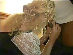 Blonde kypsä huora rakastaja pillu creamed BBC