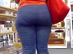 phat ass in blue