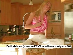 Allison funny teenage babe posing