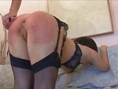 she sticks her butt out