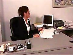 Vackra office Lesbians