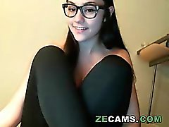 Nerd in yoga pants