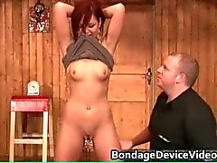 Sexy hot horny redhead nasty chick gets