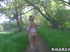 Krakenhot - BDSM Submission outdoor with a young girl