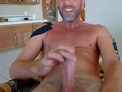Str8 Папа Кончить на лицо Webcam