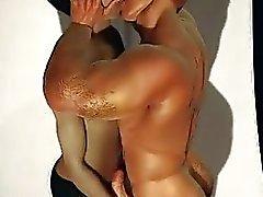 3D muscolare I ragazzi di amore Saracinesche e sperma !