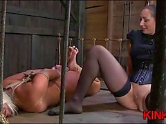 Lesbian pussy licking domination