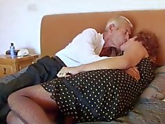 Ажурные Granny трахает дед