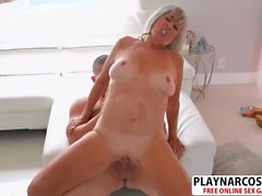 Horny Not Step Mom Silva Foxx Riding Cock Good Touching Stepson