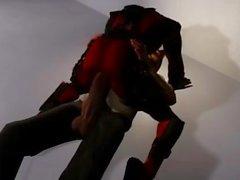 Super-héros deadpool 3d dessin animé bandes dessinées animées, coq ...