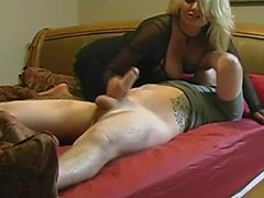 Big Breasts Mature Ride and Teasing Handjob