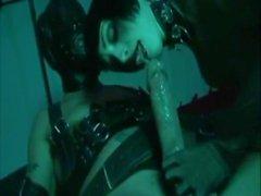 BDSM Hot Gothic Brunette Hardcore