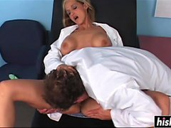 Ivy Love pounded by the doctor