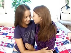 Young girls Dulce and Malin from Sapphic Erotica l