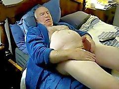 Geilen Ficksahne Vater auf dem Bett