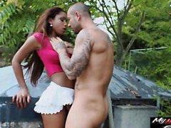 Katia and Jeffs Vineyard outdoor boning session