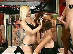 Blindfolded Slut Dominated By Couple