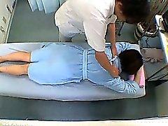Oanständig Massageterapeut förändringar Room