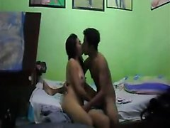 Orientalische Coed-Liebhaber filmen ihre Lust