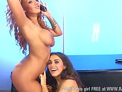 Madison Rose and Lori Buckby together