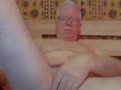 avô e jogue na webcam