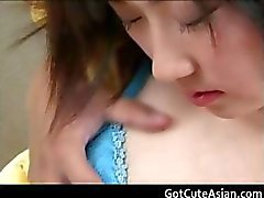 Hot japanese babe fucked in the pussy part3