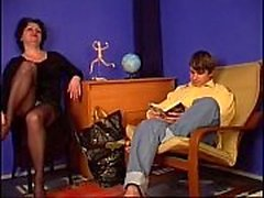 Russian mature Louisa with Karl