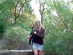 Video of busty blond slut fucking part4