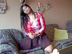 Indian - Sexy Curvy Jasmin Solo Masturbation - Part 3