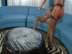 Kelly Divine Oiled up