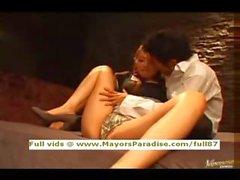 Asamai and Fuyutsuki innocent Chinese girls enjoy a hard fucking
