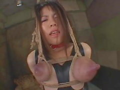 Hot Dirty BDSM Japanese Milking and Orgasm Session