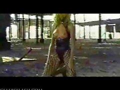 Cameron Diaz - Topless Photoshoot for Porn, Bondage Tape