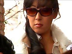 Japon garip köle karısı hayvancılık