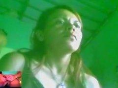 peruana patty mirando mi verga mostro sus tetas