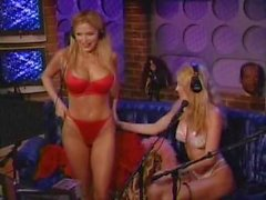 Victoria Zdrok & Courtney Taylor - Howard Stern Show 2005