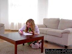 Rough Punishment For Submissive Schoolgirl