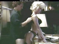 Amber Lynn In Black Nylons