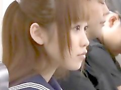 Japan trains can be dangerous for lonely schoolgirls