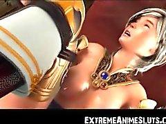 3D Jedi Girl Brutally Toyed!