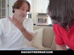 DaughterSwap - Hot Daughters Caught Selling Panties