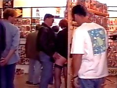 Gangbang im Sexbutik