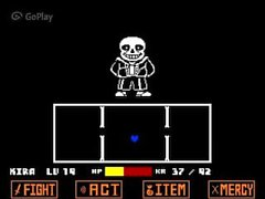 small teen gets destroyed by skeleton monster