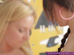 Prostituta adolescente bevanda lo sperma