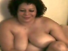 Big Granny Plays With Her Pussy And His Dick