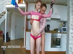 18yo lithuanian chicks playing with toys