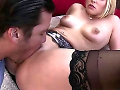Gorgeous Vanessa bounces on a big cock