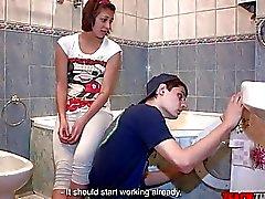 That Kaltak öğretecek - Bir yıkama makinede Assfucked