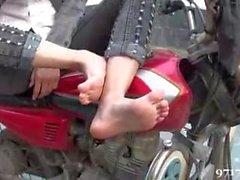 asian girl feet